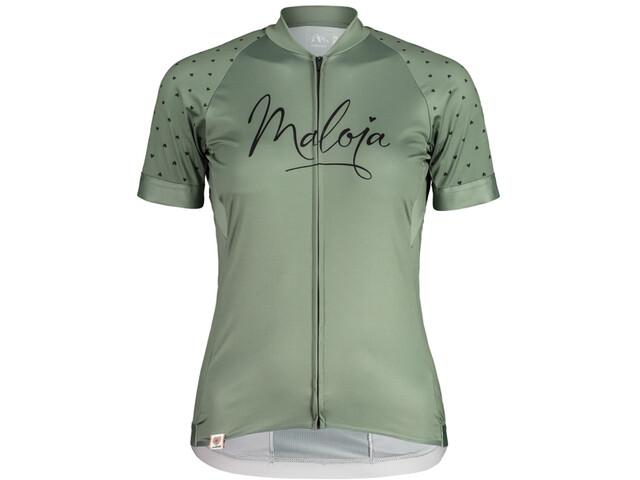 Maloja ArgoviaM. 1/2 Shortsleeve Bike Jersey Women cypress